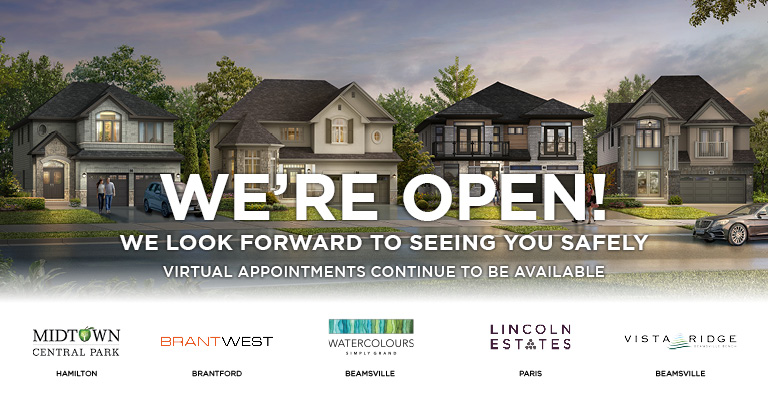 Losani Homes Sales Offices are now open