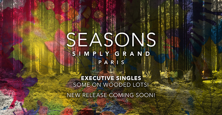 Season's Simply Grand, Executive Family Homes Coming Soon