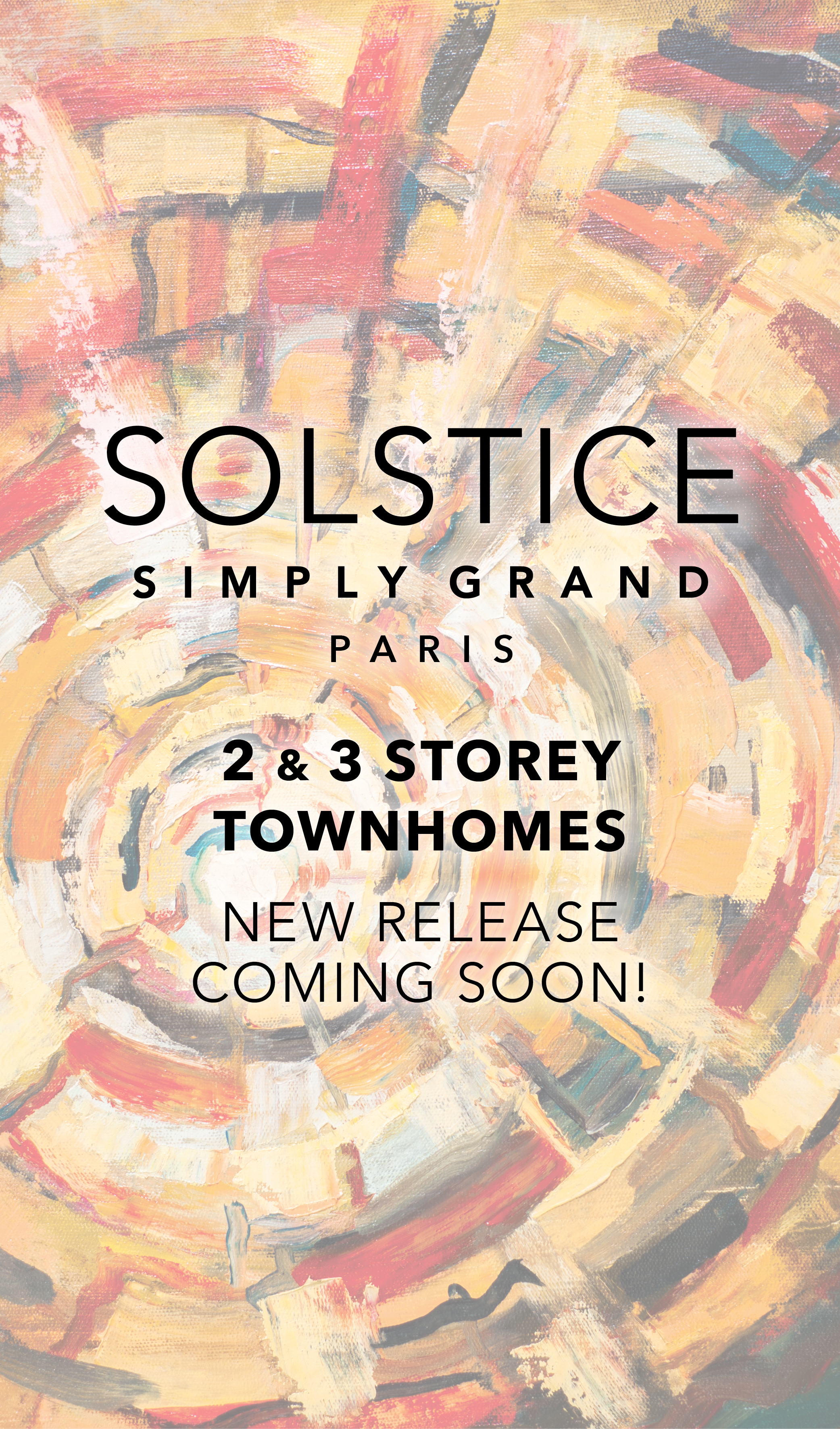 Solstice Simply Grand, Towns Coming Soon to Paris from the $400's